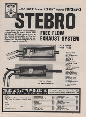 Stelbrow Exhausts