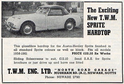 TWM Engineering Hard Top ad